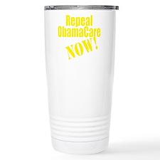 Repeal ObamaCare Now! Travel Coffee Mug