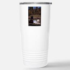 Scottie and Westie Travel Mug