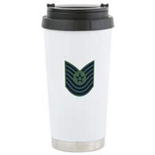 USAF-MSgt-Old-Green Travel Mug