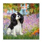 Garden & Tri Cavalie Tile Coaster
