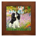 Garden & Tri Cavalie Framed Tile