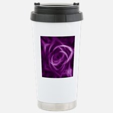 PurpleIllusionFlower_PI Stainless Steel Travel Mug