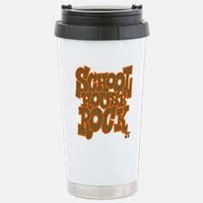2-schoolhouserock_brown Travel Mug