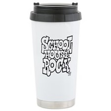 3-schoolhouserock_BW Travel Mug