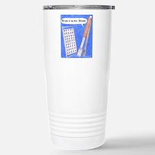 Hero Grandpa Copyright Stainless Steel Travel Mug