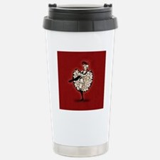 can-can-dancer_b Stainless Steel Travel Mug