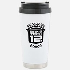 10x10 Center Black Stainless Steel Travel Mug