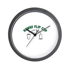Hawaii Flip Cup Wall Clock