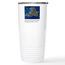 di aerial w words Travel Mug