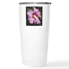 Droplets on violet Travel Mug