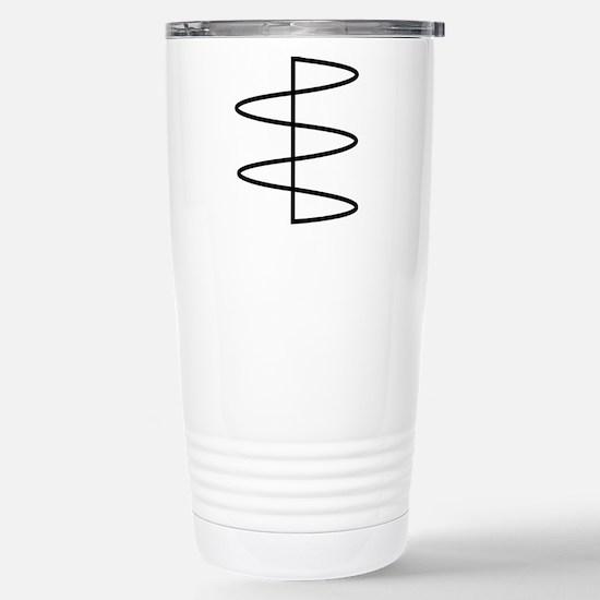 sine Stainless Steel Travel Mug