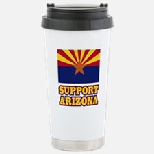 SupportArizona Travel Mug
