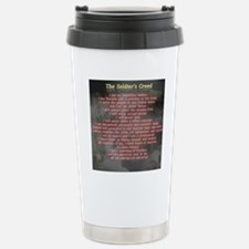 2-Soldiers Creed Stainless Steel Travel Mug
