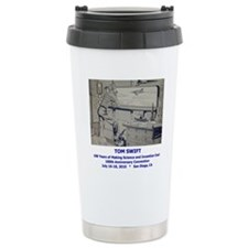 TS Jr endpaper lab with Travel Mug