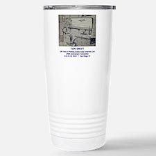 TS Jr endpaper lab with Travel Mug