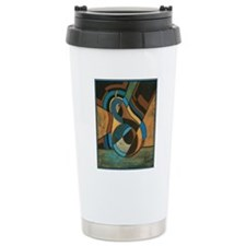GeoCubistPear for Diego Travel Mug