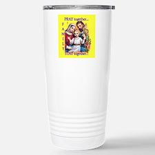 tote_family_pray Travel Mug