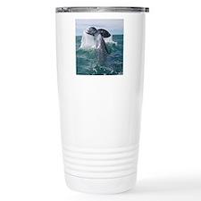 Copy of 1st close up wh Travel Coffee Mug