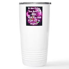 GayFetus Travel Mug