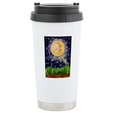 Night Moon Travel Mug