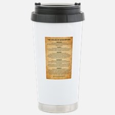 Boyes Largest Rules Pos Stainless Steel Travel Mug