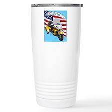 AB08 C-MOUSE FREE GOLD Travel Mug