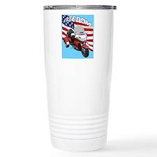 AB08 C-MOUSE FREE RED Travel Mug