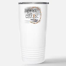 breakthechain Stainless Steel Travel Mug