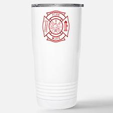 fire wife maltese cross Travel Mug