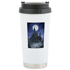gothic castle reworked Travel Mug