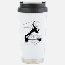 2-Parkour-lines10x10 co Stainless Steel Travel Mug