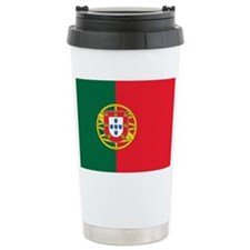 portugal flag 2 Travel Mug