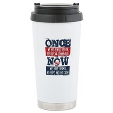 Obama, No Hope, No Cash Travel Mug