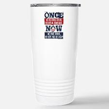 Obama, No Hope, No Cash Travel Mug
