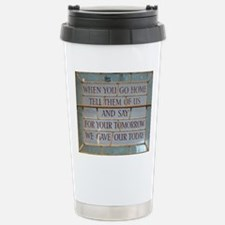 When you go Stainless Steel Travel Mug