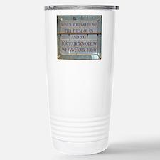 When you go Travel Mug