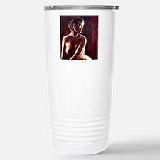 nude backlit squ Travel Mug