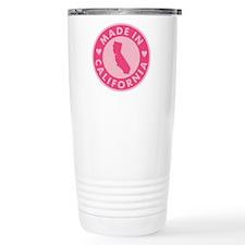 Pink-Made-In-Califotnia Travel Mug