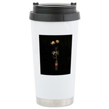 Yellow Roses Square 3 Travel Mug