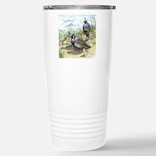 Quail on a Summer Day Travel Mug