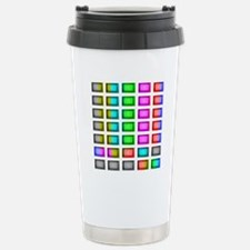 t.v. sno color bars Travel Mug
