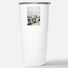 Beach Holiday Travel Mug