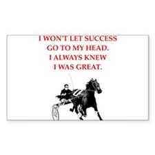harness racing Stickers