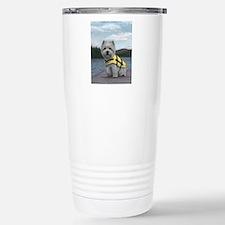 Truman at the Lake Travel Mug