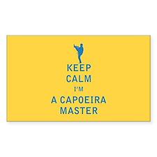 Keep Calm I'm a Capoeira Master Decal
