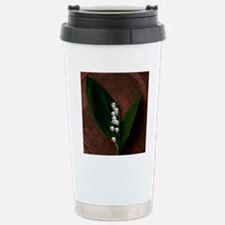Lily of the Valley Keep Stainless Steel Travel Mug