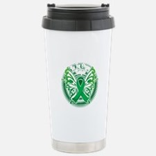 Organ-Donor-Butterfly-3 Stainless Steel Travel Mug