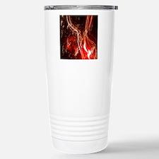 Fire work Travel Mug
