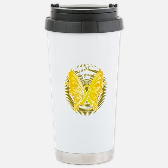 Suicide-Prevention-Butt Stainless Steel Travel Mug