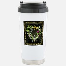 Entwined Heart Stainless Steel Travel Mug